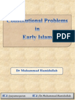 Constitutional Problems in Early Islam, By Dr. Muhammad Hamidullah