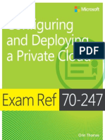 Exam Ref 70-247 - Configuring and Deploying a Private Cloud