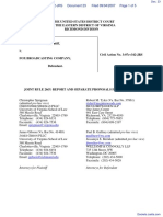 segOne, Inc. v. Fox Broadcasting Company - Document No. 23