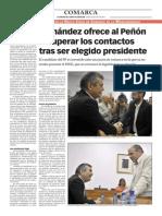 150730 La Verdad CG- Fernández Ofrece a Gibraltar Recuperar Los Contactos Tras Ser Elegido Como Presidente p.12
