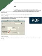 SAP123 - Serial Numbers and Materials