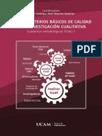 Guía de criterios básicos de calidad en la investigación cualitativa.