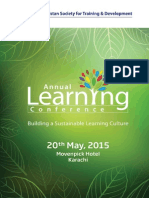 3rd Annual Learning Conference With Agenda