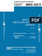 MBG_532-09 Heavy Duty Metal Bar Grating Manual