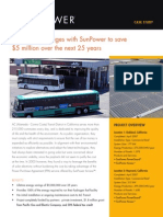 AC Transit engages with SunPower to save $5 million over the next 25 years