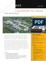 Alameda County Saves $540,000 A Year in Electricity Costs with SunPower