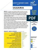 Bulgaria Report Card