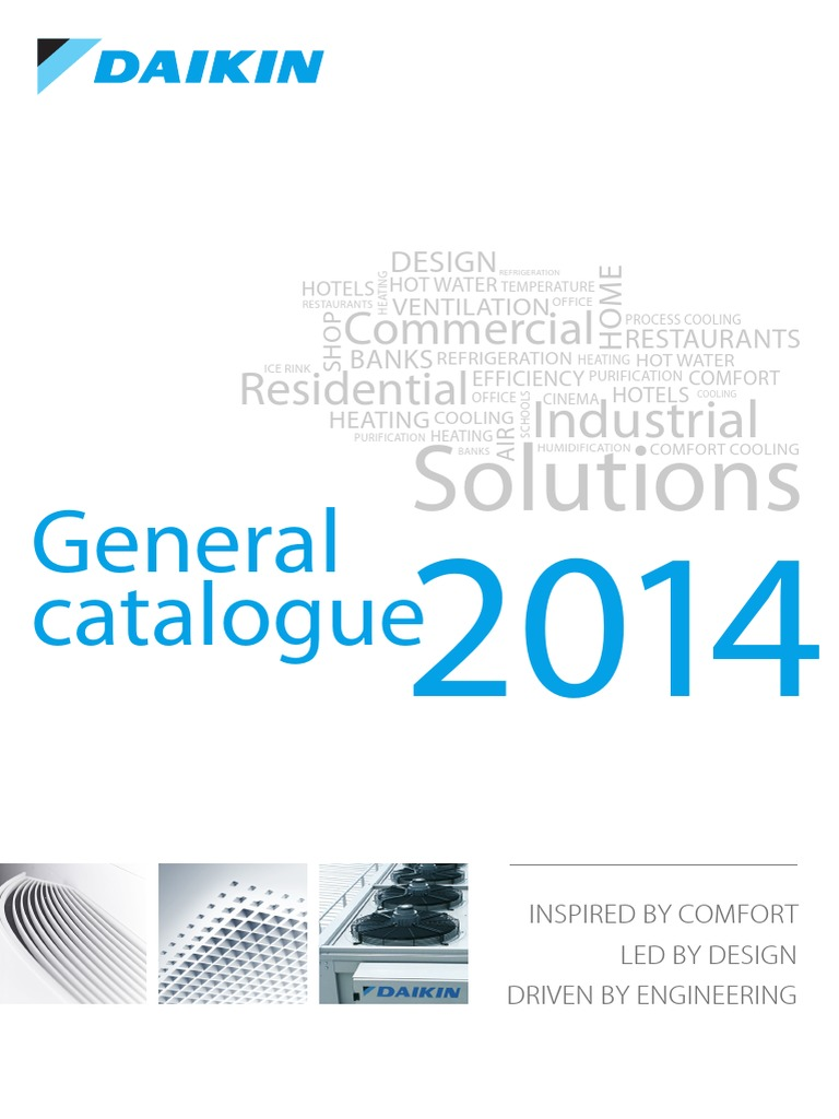 daikin general catalogue 2014 air conditioning heat pump rh scribd com