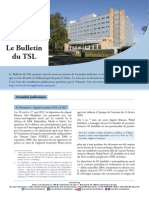 Bulletin du TSL- Mai 2015