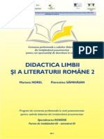 II Florentina Samihaian Didactica Limbii Si Literaturii Romane 2 Opti