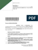 PA18456 Contestação Prescrição IFPD Acidente x Doença Dano Moral Inversão Marcelo