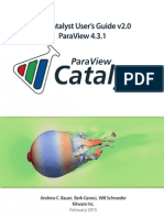 ParaView Catalyst UsersGuide