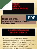 Prinsip Dasar Patient Safety (Co Ass)