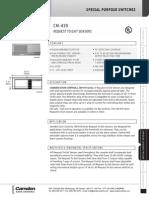 Camden 419W Data Sheet