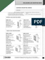 Camden CM-31 Data Sheet