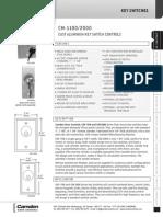 Camden CM-1100-7012-DUR Data Sheet