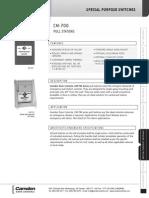Camden CM-701 Data Sheet