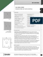 Camden CM-3200-7012 Data Sheet