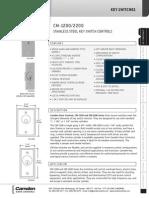 Camden CM-12007012 Data Sheet