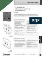 Camden CV-TAC4WC Data Sheet
