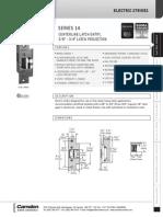 Camden CX-EL1450A Data Sheet