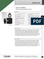 Camden CX-EL9117 Data Sheet