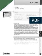 Camden CX-SA-1 Data Sheet