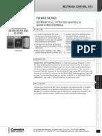 Camden CX-WEC10 Data Sheet
