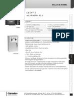 Camden CX-EMF-2M Data Sheet
