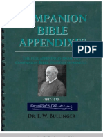 E.W. Bullinger--APPENDIXES to Companion Bible