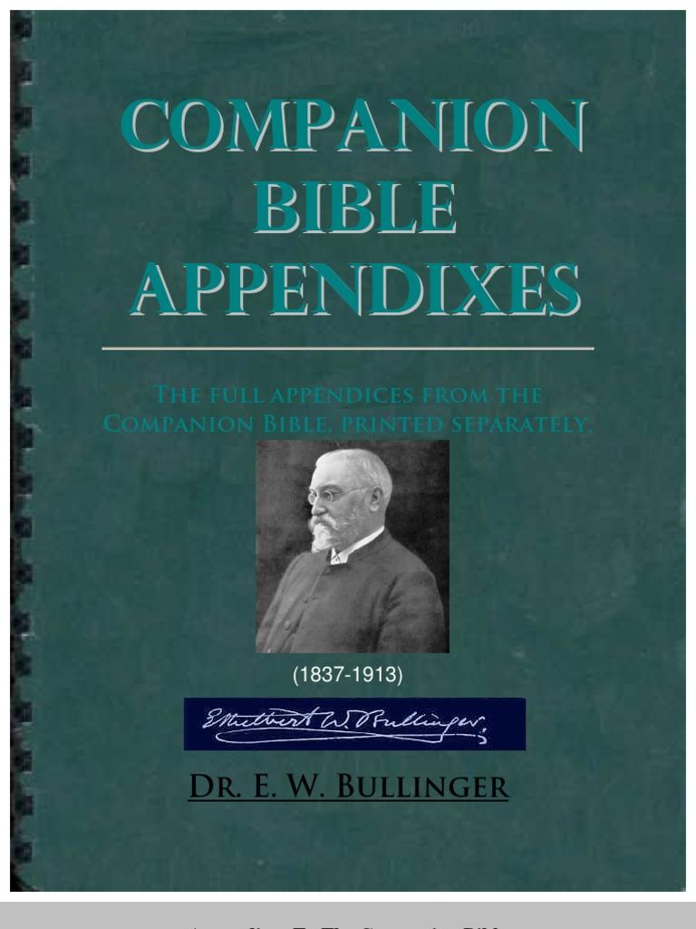 The Companion Bible - The Book of Malachi