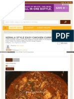 Pachakam Com Recipes Kerala Style Easy Chicken Curry 1173