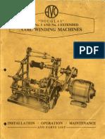 Avo Douglas Coil Winding Machine