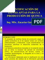 Zonificacion de Quinua