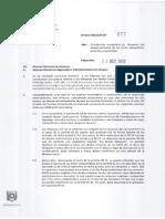 OFICIO CIRCULAR 277-22.10.12 Clasificacio´n Arancelaria lamparas led