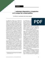 El Papel de La Radiología Diagnóstica y Terapéutica en El Campo de La Salud Pública