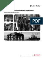 Manual de Usuario Micro 830- 850