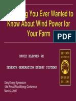 Wind Power Blecker