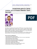 108 Invocaciones Llama Violeta