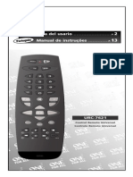 Urc 7621 Manual and Warranty