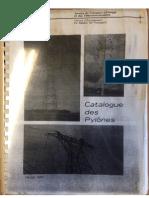 Catalogue Des Pylônes EDF
