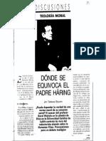 Styczen Tadeusz Dónde Se Equivoca El Padre Haring