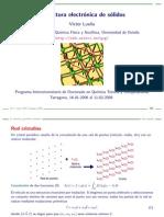 estructura electronica de solidos