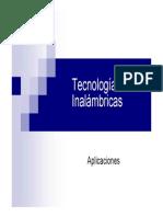 TECNOLOGIAS INALAMBRICAS