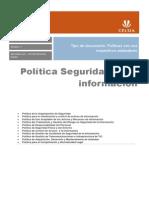 Politica Seguridad de La Informacion