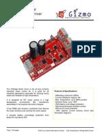 H-bridge Motor Driver Hardware Manual