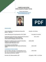 Curriculum Silvia América
