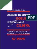 Ed Bernd Uspešno Donošenje Odluka i Postavljanje Ciljeva
