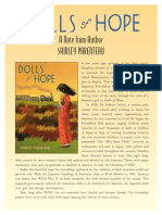 Dolls of Hope Author's Note