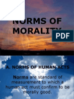 Norms of Morality